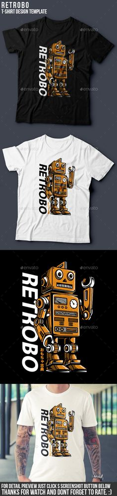 Retrobo T-Shirt Design vector resizable, easy to edit and change color file included AI, EPS, PNG,and READ ME.txt High Resolution Link font included in README text file 3 color 2 color version Thanks! and dont forget to give me a five stars! T Shirt Design Template, Shirt Print Design, Shirt Designs, Book Cover Design, Book Design, Design Ideas, Interior Logo, Shape Posters, Portfolio Design