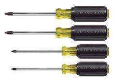 Klein Tools 85664 Square Recess Screwdriver Set, 4-Piece KLEIN TOOLS http://www.amazon.ca/dp/B000FJRAWM/ref=cm_sw_r_pi_dp_0q5Cub07E0000