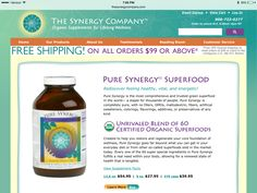 Pure Synergy Superfood Green Powder Lolin Hilgartner recommends