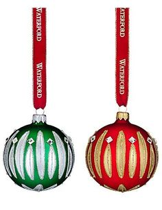 Waterford HH Carina Ball Ornament, Pair *** You can get additional details at the image link. (This is an affiliate link) #SimpleHomeDecor