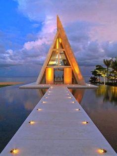 Infinity Chapel in Bali