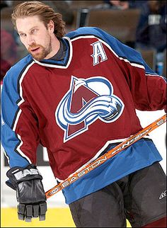 I seriously miss when Forsberg, Sakic, and Roy owned the ice