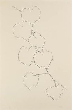Ellsworth Kelly   Grape Leaves II, 1973-74