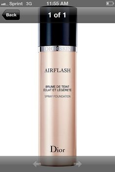 Dior Airflash foundation gives you a flawless coverage. Depending on application Airflash can  provide light, medium, to full coverage. Doesn't rub off onto clothes, it's seriously does it all. Easily one of my top 5 favorite products!
