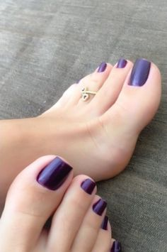 Only sexy feet Blue Toe Nails, Purple Toes, Pretty Toe Nails, Feet Nails, Pretty Toes, Manicure Y Pedicure, Pedicures, Long Toenails, Nice Toes