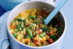Bacon, vegetable and lentil soup http://recipes-only.com/bacon-vegetable-and-lentil-soup/