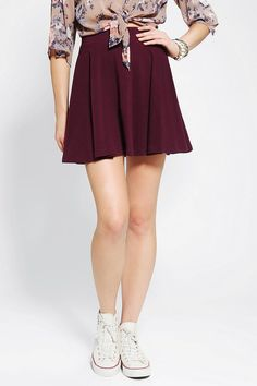 Urban Outfitters | Pins & Needles Knit Circle Skirt