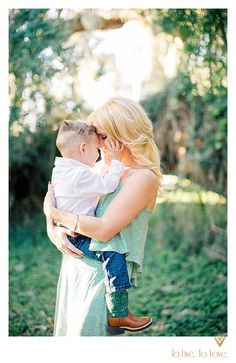 Beautiful!      Mother and Son Portrait under big oak tree   To Live. To Love. Photography
