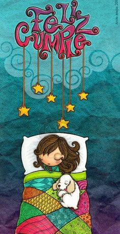 Good Night and Sweet Dreams! Art And Illustration, Vogel Gif, Sketch Manga, Manga Art, Happy B Day, Whimsical Art, Cute Art, Sweet Dreams, Art Drawings