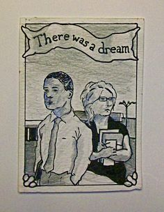 There Was a Dream 131 ARTIST TRADING CARDS 2.5 x by MikeKrausArt