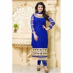 Ladies Neck Design Salwar Suit
