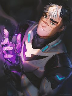 Shiro the Black Paladin of Voltron from Voltron Legendary Defender