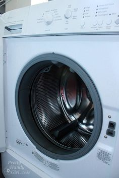 How to keep front loading washer clean