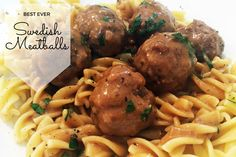 Best Ever Swedish Meatballs Recipe