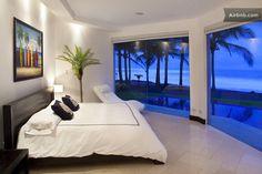 La Casa del Mar at Playa Hermosa in Jaco.    How I'm going to sleep!