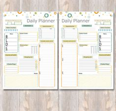 Daily Planner Printable Day Planner Schedule To Do List Printable Day Planner, Daily Planner Printable, Planner Template, Schedule Templates, 2017 Planner, Blog Planner, Happy Planner, Budget Planner, Planner Ideas