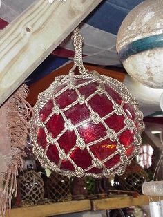 Glass Floats - Nautical Antique Bow Light, Sand Glass, Nautical Bedroom, Glass Floats, Glass Ball, Antique Glass, Ropes, Blown Glass, Anchors