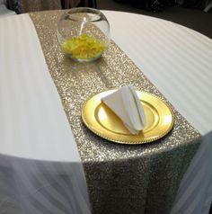 Candy Buffet Gold Wedding Pearls Golden Wedding