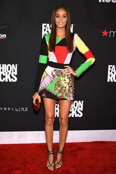 Joan Smalls in Fausto Puglisi - Fashion Rocks 2014