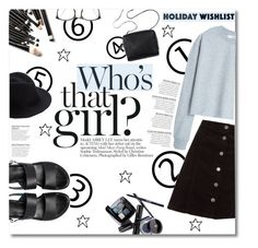 """""""What's on Your Wish List"""" by maayan-styles ❤ liked on Polyvore featuring MANGO, ASOS, Chanel, Eugenia Kim, Linda Farrow, contestentry and 2015wishlist"""