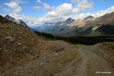 View north from the Bow Summit, Banff National Park, Alberta   TravelGumbo