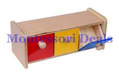 New Montessori Box w/ Bins #Montessori