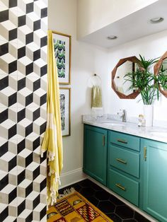 Every bathroom remodel begins with a design concept. From full master bathroom renovations, smaller sized guest bathroom remodels, and bathroom remodels of all sizes. Bathroom Wall Colors, Bathroom Color Schemes, Small Bathroom, Modern Bathroom, Master Bathroom, Tropical Bathroom Decor, Bathroom Tubs, Colorful Bathroom, Bathroom Gray