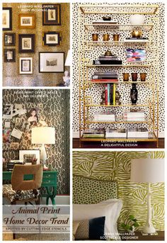 which stencil design would you prefer animal print or brick, bedroom ideas, home decor, painting