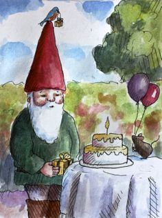 Happy Birthday, Mr. Gnome!