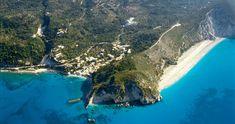 Agios Nikitas and Milos Beach, Lefkada Island, Greece