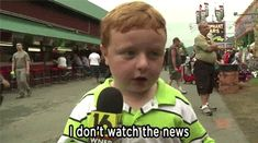 """At the Wayne County Fair in Pennsylvania, a local news channel interviewed a young fairgoer, Noah Ritter, who apparently had never ever been on live television before. 
