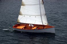 Goat Island Skiff (GIS) - A real sailing boat - Michael Storer Wooden Boat Plans  I think I want to build this