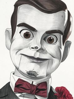 Slappy Drawing sold by Scott Straka Art. Shop more products from Scott Straka Art on Storenvy, the home of independent small businesses all over the world. Scary Drawings, Halloween Drawings, Dark Art Drawings, Art Drawings Sketches, Disney Drawings, Pencil Drawings, Horror Drawing, Horror Artwork, Avengers Art