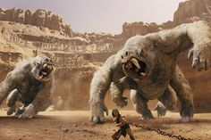 """From the director of """"Finding Nemo"""" and """"WALL·E"""" comes """"John Carter,"""" an ambitious, wayward version of a century-old story that plays like a pallid remake of """"Avatar."""" http://ti.me/xAkOlK"""