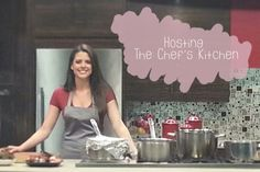 A look back on my time guest hosting the show, The Chef's Kitchen. Check out my blog to watch a full episode!! http://livelaughcook.com/live-laugh-chefs-kitchen  Live. Laugh. Cook. - Love Deliciously
