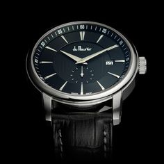 du Maurier the Maxim Black II Following in the footsteps of the stunning, first edition Maxim Black, du Maurier Watches is proud to announce the release of the Maxim Black II