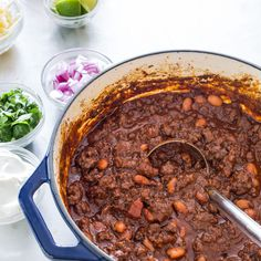 For our Best Ground Beef Chili recipe, we found that the key to getting tender, flavorful beef was to treat it like chuck.