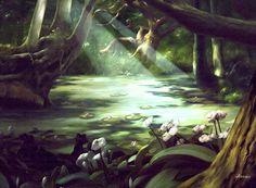 John Avon - Swamp - Magic Premiere Shop, M11 - 1,000x734 pixels