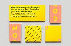 French designer Arthur Foliard's impressive, changeable identity for Mood