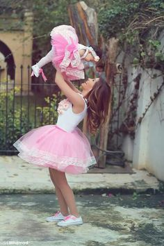 Mother Daughter Lace Tutu Look