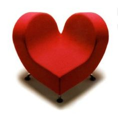 A heart envelopes you with warmth. Designed by Claudio Colucci Design.