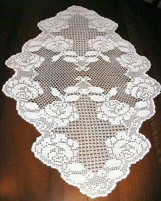 Crochet Books, Crochet Art, Thread Crochet, Crochet Motif, Crochet Designs, Crochet Stitches, Crochet Placemats, Crochet Table Runner, Doily Patterns