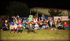 Future Tigers dressed up for Halloween!