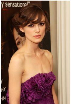 Kiera Knightley looks so cute and pretty :)