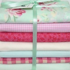 "Kit de tecidos ""Sweet Roses"" :: Country Craft Studio Patchwork"