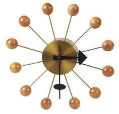 George Nelson: Nelson ball clock...