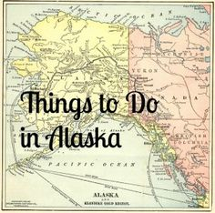 Things to Do in Alaska. #alaskaadventures! Check out the Alaska Adventures app and Facebook site as well!