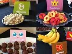 Super Smash Bros Party Snacks