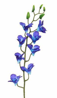 Purple And Blue Hydrangea Silk Flowers Bush 25 Pinterest 30th Anniversary Parties