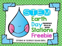 Resource Round-Up: Earth Day STEM, Word Decoding, Mystery Writing, Landforms Posters, Types of Angles, and More! | The TpT Blog